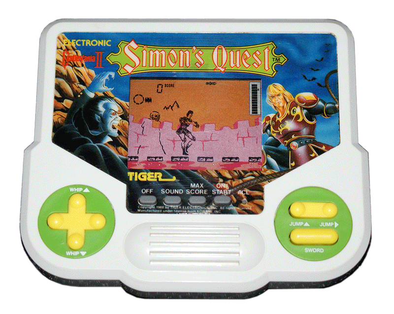 R-Zone by Tiger Electronics – The Video Game Kraken